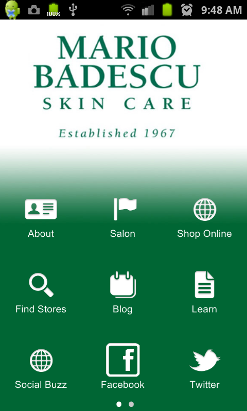 Mario Badescu Skin Care - screenshot