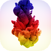 Colored Ink Drops LWP