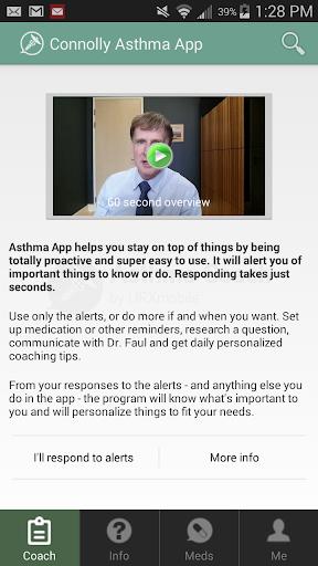 Connolly Asthma App