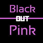 Blackout Pink Keyboard Skin