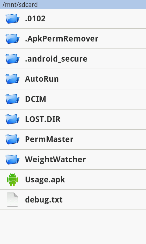 Advanced Permission Manager- screenshot
