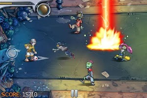Screenshot of Pro Zombie Soccer Demo