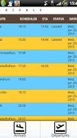 Screenshot of Maldives Flight Schedule