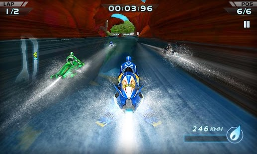 Powerboat Racing 3D Screenshot 2