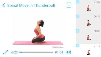 Screenshot of Yoga for Weight Loss II (PRO)