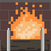 8-bit Holiday Yule Log