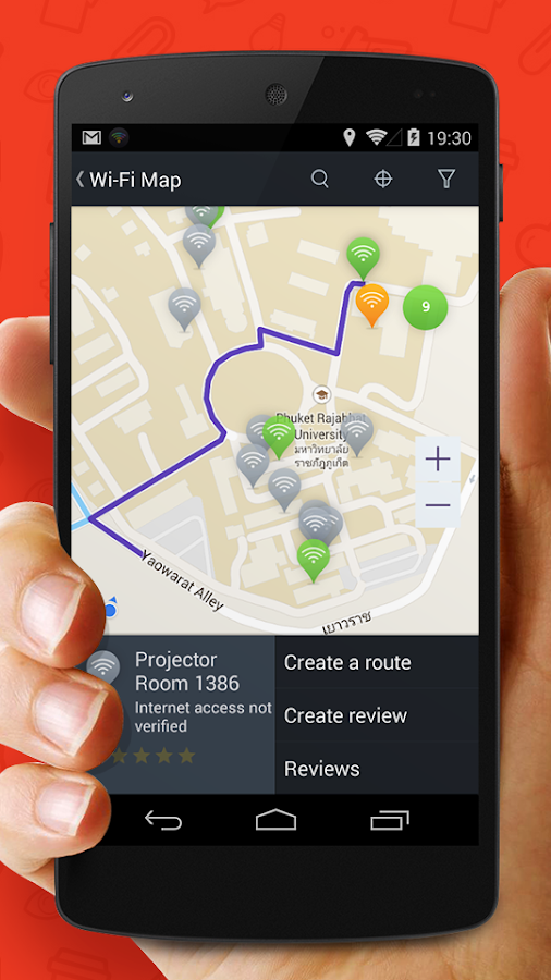 WADA Wi-Fi Maps - Free Wifi- screenshot