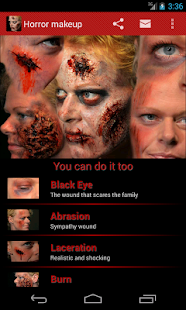 Halloween Horror Makeup- screenshot thumbnail
