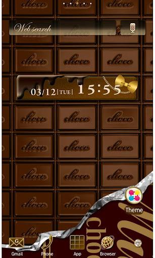CHOCOLATE BAR Wallpaper Theme 1.5 Windows u7528 1