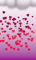 Screenshot of Valentine's day live wallpaper