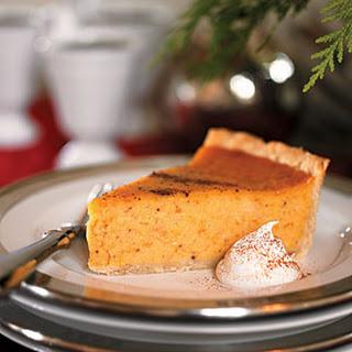 Cardamom-Scented Sweet Potato Pie.