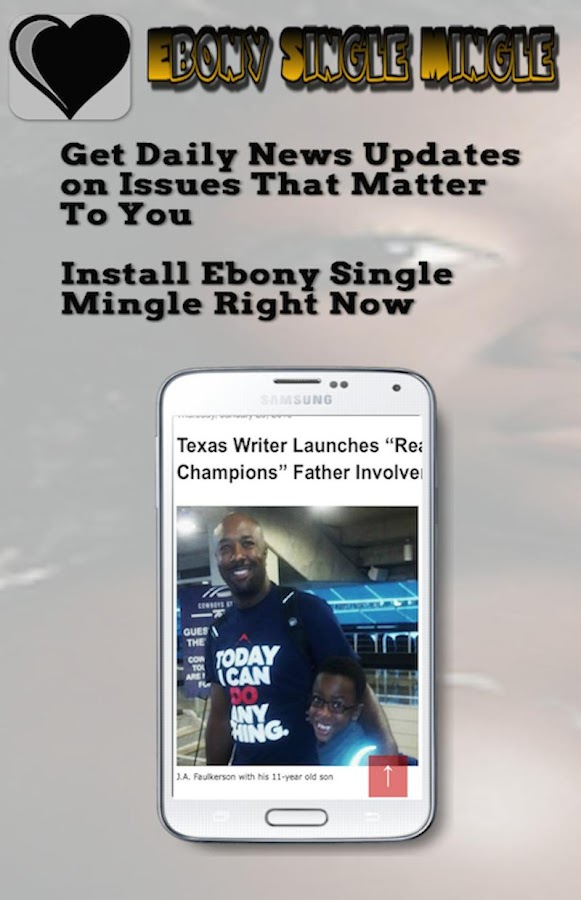 Ebony Single Mingle- screenshot
