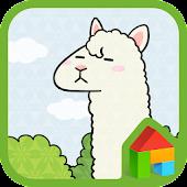 Lonely Mr Alpaca Dodol Theme