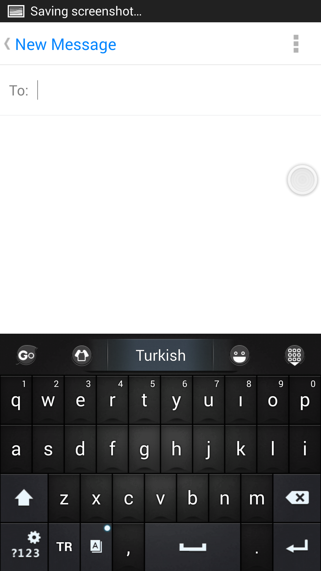 Turkish for GO Keyboard- Emoji screenshot #4