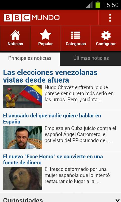 BBC Mundo - screenshot