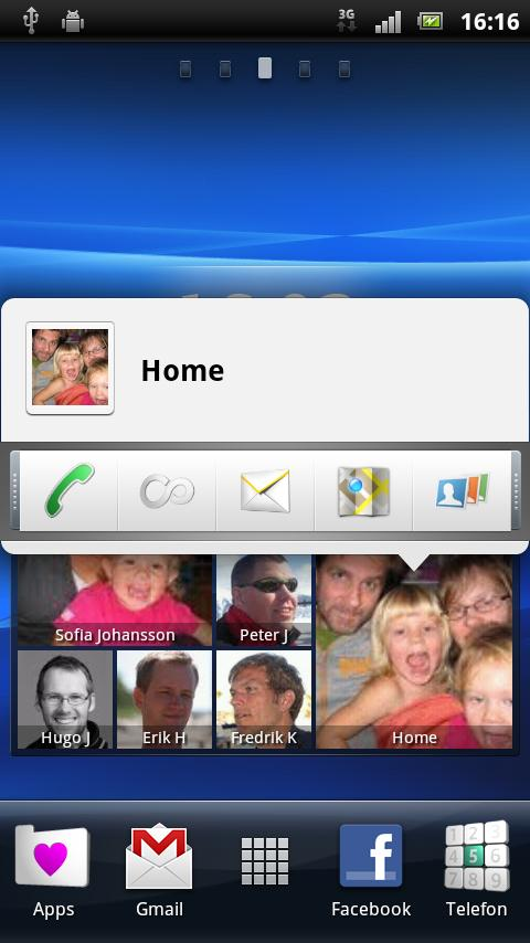 life.contacts beta - screenshot