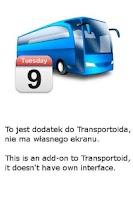 Screenshot of Transportoid Kalendarz