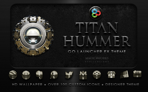 GO Launcher EX theme Hummer