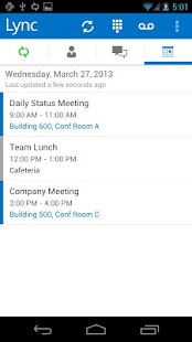 Lync 2013 - screenshot thumbnail