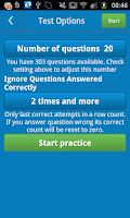 Screenshot of ADI Theory Test