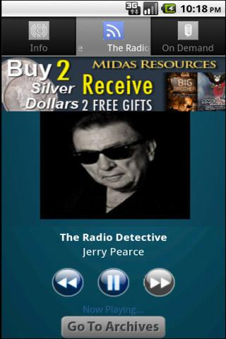 The Radio Detective - screenshot