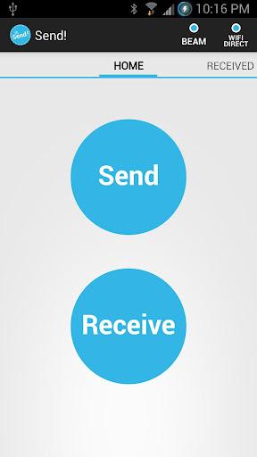 Send File Transfer