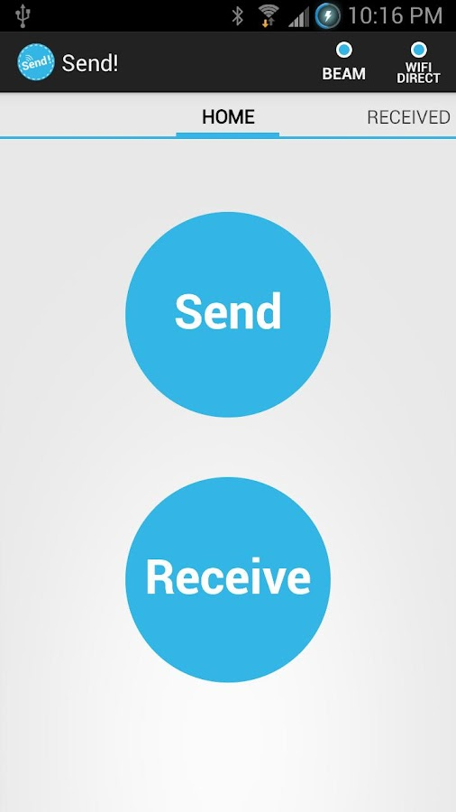 Send! | File Transfer (NFC) - screenshot