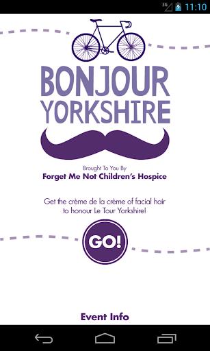 Bonjour Yorkshire App