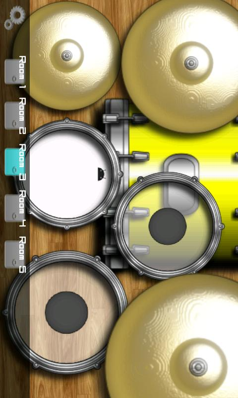 DroiDrum Pro - a pro drum set - screenshot
