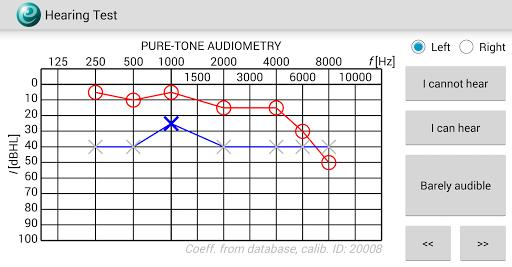 Hearing Test 1.1.3 screenshots 1