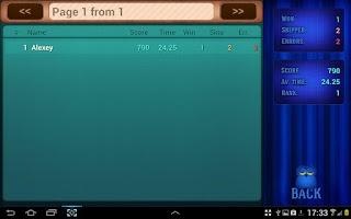 Screenshot of Quiz Game