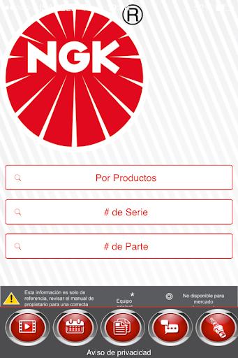 Catálogo 2015 NGK