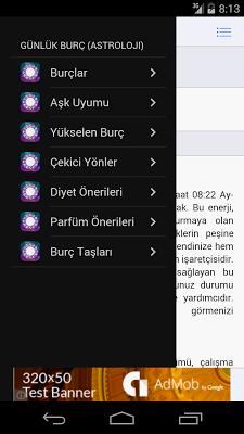 Günlük Burç ve Astroloji - screenshot