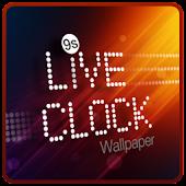 9s-LiveClock Wallpaper