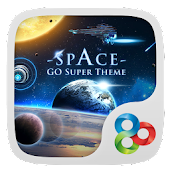 Space GO Launcher Super Theme