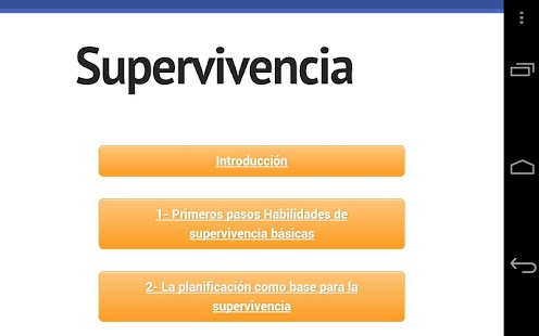 Tecnicas de Supervivencia - screenshot thumbnail