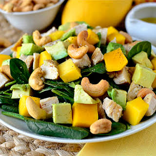 Cashew Chicken Mango Salad.