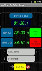 Jam Timer for Roller Derby (Android App)