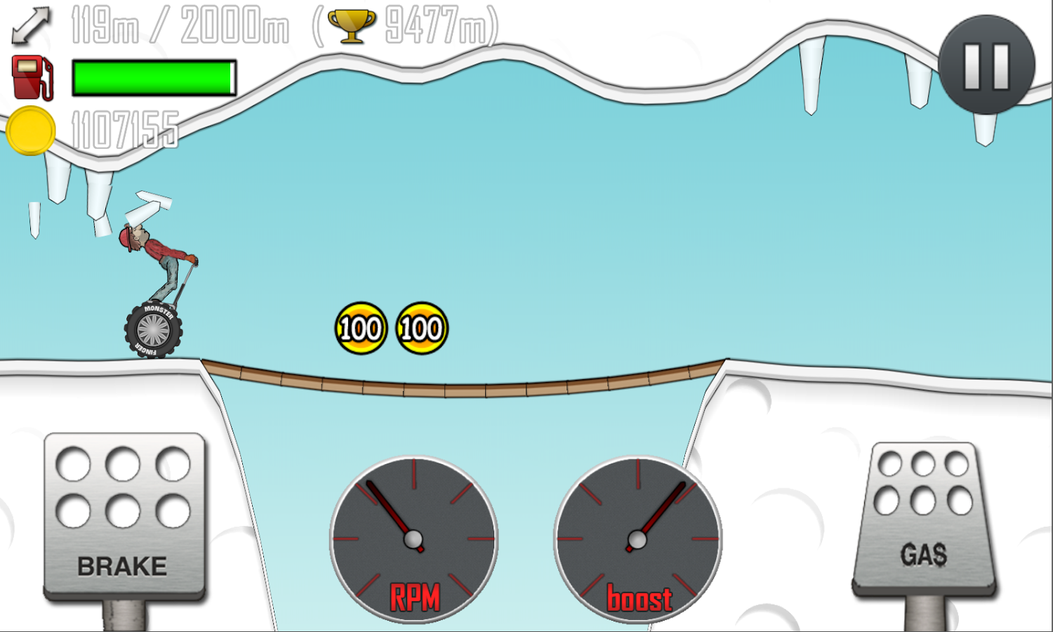 Hill Climb Racing- screenshot