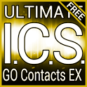 Gold ICS GO Contacts Theme icon
