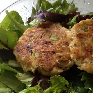 Maryland Style Lump Crab Cakes.