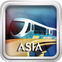 Asia Metro Maps logo