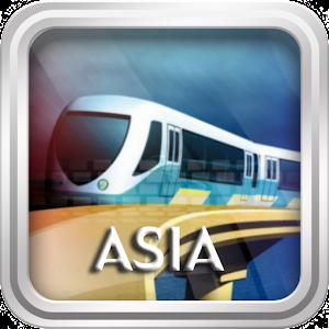 Asia Metro Maps