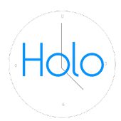 Simple Holo Stopwatch
