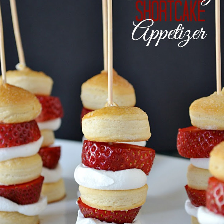 Strawberry Shortcake Appetizer Recipe