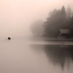 Fishing by Jože Borišek - Nature Up Close Other Natural Objects ( bohinj (slovenija) )
