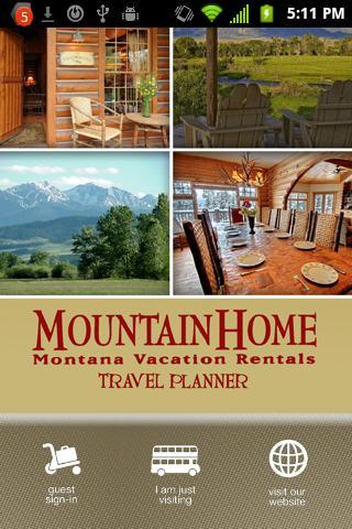 Mountain Home Montana Rentals