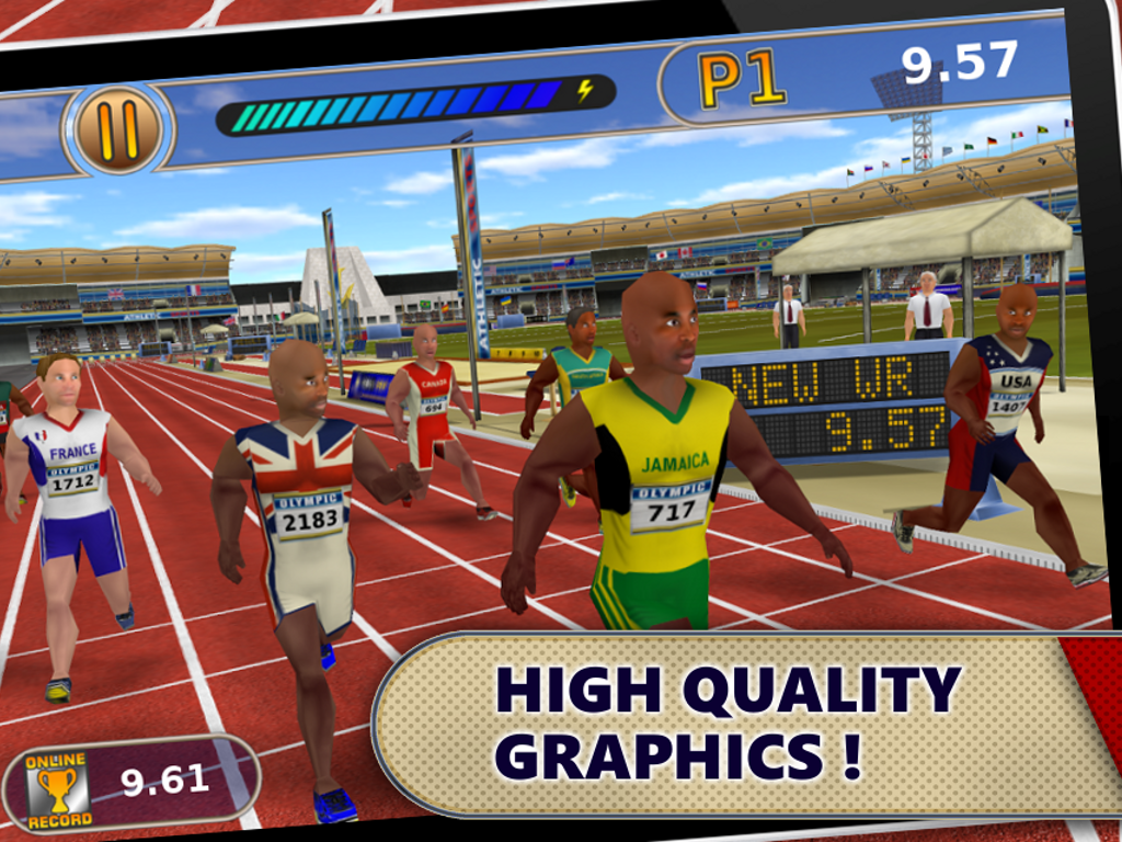 Athletics: Summer Sports Free- screenshot
