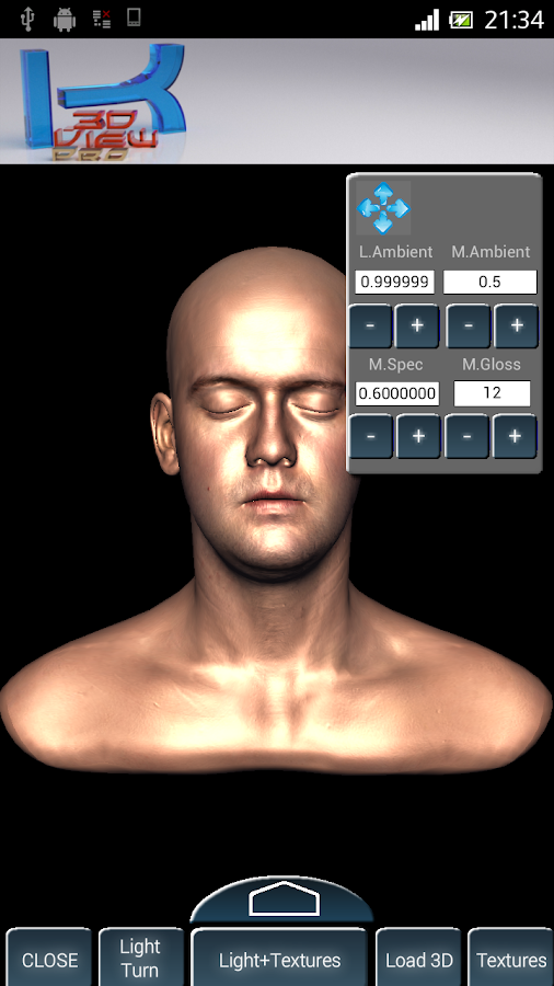 Kubik 3d Viewer Lite- screenshot