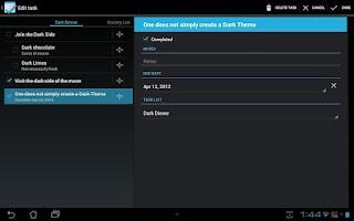 Screenshot of Tasks Free